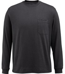 wolverine men's knox long sleeve tee black, size xxl