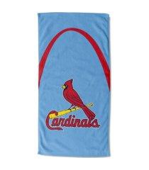 "northwest company st. louis cardinals 30x60 ""powder arch"" beach towel"