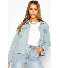 western jean jacket, light blue