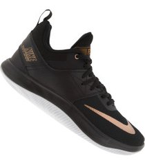 tênis nike fly by low ii - masculino - preto/bronze