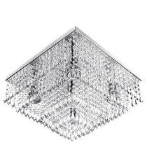 lustre de cristal acrilico dreamcrillic 40x40 magnifico!!