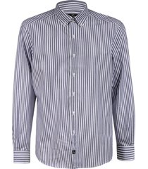 fay classic stripe shirt