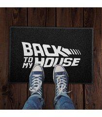 capacho back to my house branco 0,40x0,60m - beek