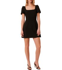 french connection awiti whisper ruth sheath dress, size 0 in black at nordstrom