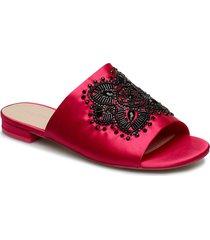 miraliclya shoes summer shoes flat sandals röd aldo