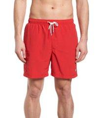 men's tommy bahama naples coast swim trunks, size xx-large - red