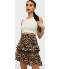 co'couture adore animal smock skirt midikjolar