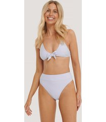 na-kd swimwear maxi highwaist bikini panty - purple