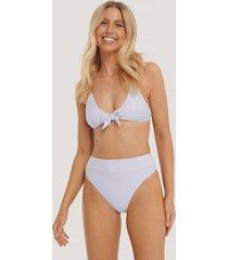 na-kd swimwear maxi highwaist bikini panty - purple