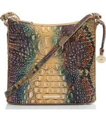 brahmin katie ombre melbourne embossed leather crossbody