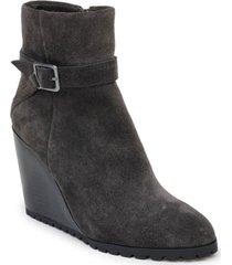 women's splendid pascal wedge bootie, size 8.5 m - grey