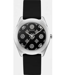analogowy zegarek z logo piwonii