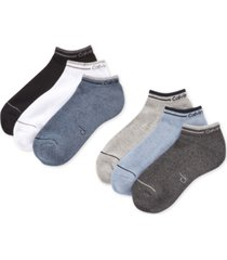 calvin klein six-pack back tab ankle socks