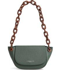simon miller bend leather shoulder bag -
