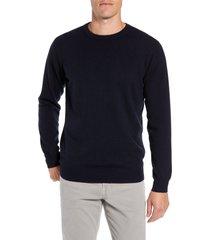 men's rodd & gunn queenstown wool & cashmere sweater, size xxx-large - blue