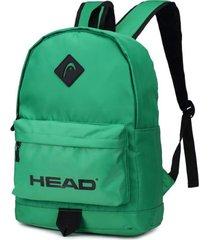 mochila verde head