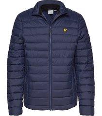 lightweight quilted jacket gevoerd jack blauw lyle & scott
