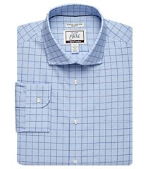 1905 collection slim fit cutaway collar check repreve® dress shirt - big & tall clearance, by jos. a. bank