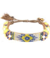 deepa gurnani alessia bracelet in yellow at nordstrom
