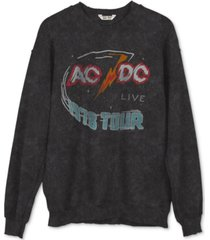 junk food ac/dc graphic sweatshirt