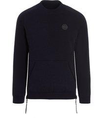 canada goose hybridge knit reversible sweater