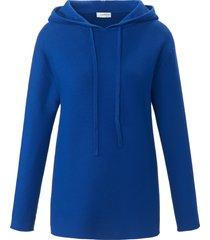 hoody-trui van 100% katoen van looxent blauw