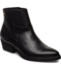 dashed w leather sho shoes boots ankle boots ankle boots flat heel svart sneaky steve