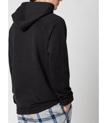 calvin klein men's pullover hoodie - black - xl
