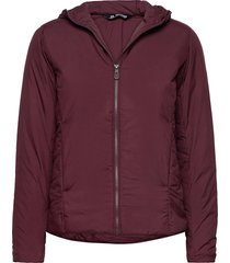 outrack insulated hoodie w outerwear sport jackets lila salomon