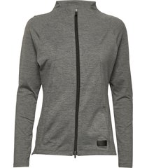 cloudspun w warm up jacket sweat-shirt tröja svart puma golf