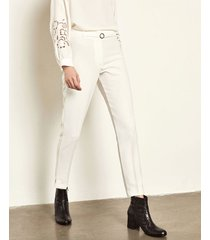 pantalón blanco portsaid sastrero cigarette harrow