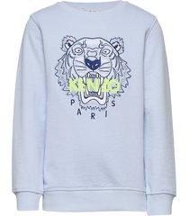 tiger jb b3 sweat-shirt trui blauw kenzo