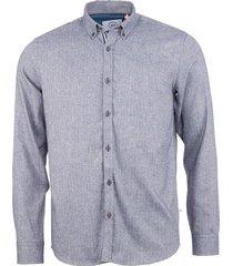 johan herringbone flannel shirt