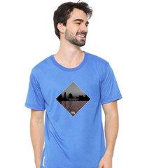 camiseta sandro clothing dream azul - azul - masculino - dafiti
