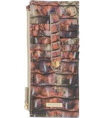 brahmin credit card ombre melbourne leather wallet