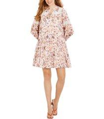 jessica simpson cotton a-line maternity dress