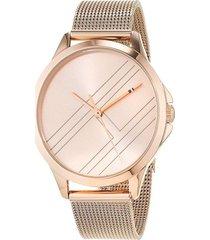 reloj tommy hilfiger 1781963 rosa acero inoxidable