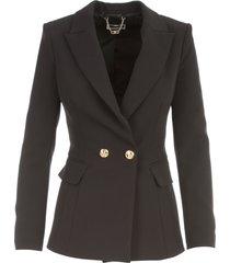 elisabetta franchi jacket w/buckle behind