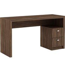 mesa para escritório, 2 gavetas, me4130, - tricae