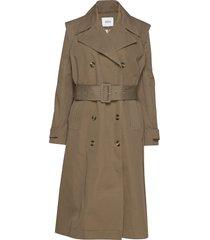 enartsy jacket 6702 trenchcoat lange jas grijs envii