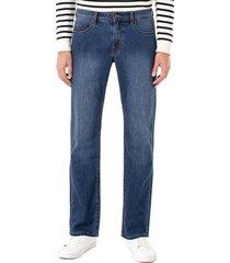 men's liverpool regent straight leg jeans, size 29 x 30 - blue