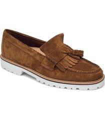 gh weejun 90 layton ii kiltie båtskor skor brun g.h. bass