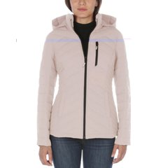 nautica hooded packable puffer coat, created for macy's