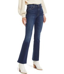 mother fray hem bootcut jeans, size 25 in teaming up at nordstrom