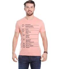 camiseta javali salmão eskala