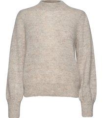 fancy mohair knit gebreide trui beige maud