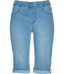 bermuda di jeans con elastico (blu) - bpc selection