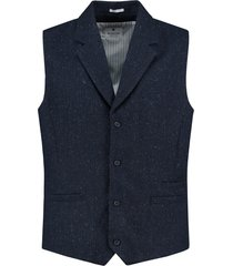 dstrezzed gilet tonal check wool 121110/669