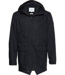 shelter jacket parka jacka blå makia