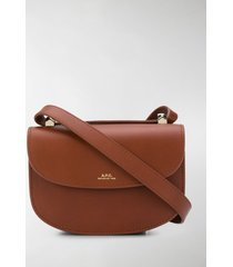 a.p.c. mini geneve crossbody bag